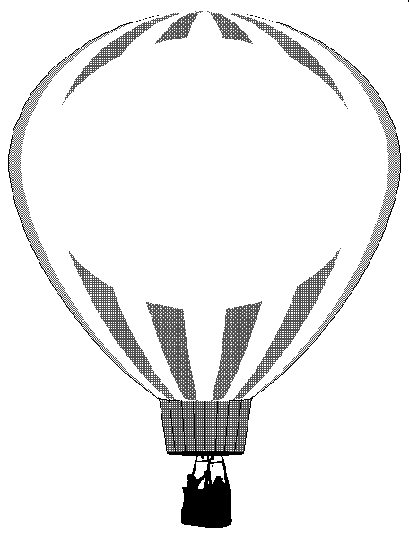 456x598 Hot Air Balloon Black White Hot Air Balloon Clipart Black