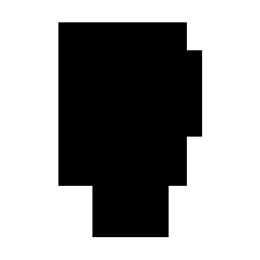 512x512 Striped Hot Air Balloon Icon