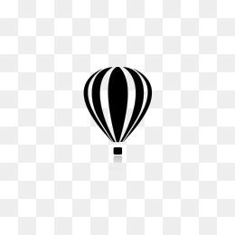 260x260 Business Folder Hot Air Balloon Icon, Icon, Folder Icon, Hot Air