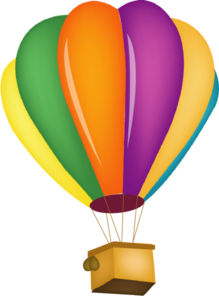 219x296 Hot Air Balloon Clip Art