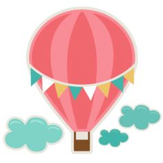 236x236 Cute Hot Air Balloon Clipart