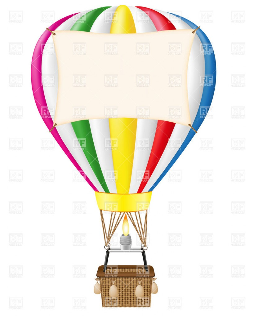 819x1024 Free Hot Air Balloon Clip Art