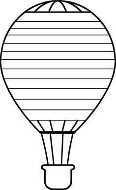 236x387 Colorful Hot Air Balloon Scrapbook