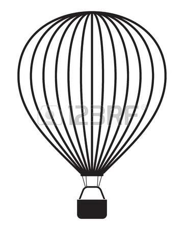 361x450 Drawn Hot Air Balloon Clipart