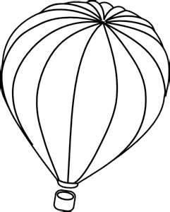 241x300 Hot Air Balloon Template Clipart Panda