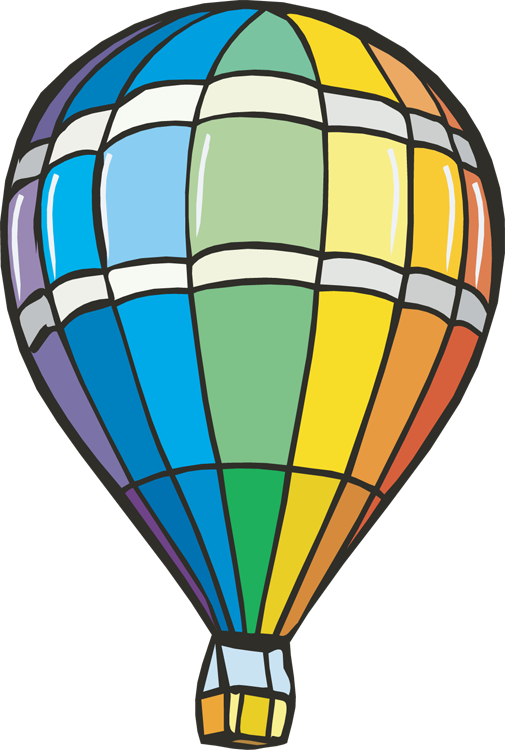 505x750 Air Balloon Clipart Hot