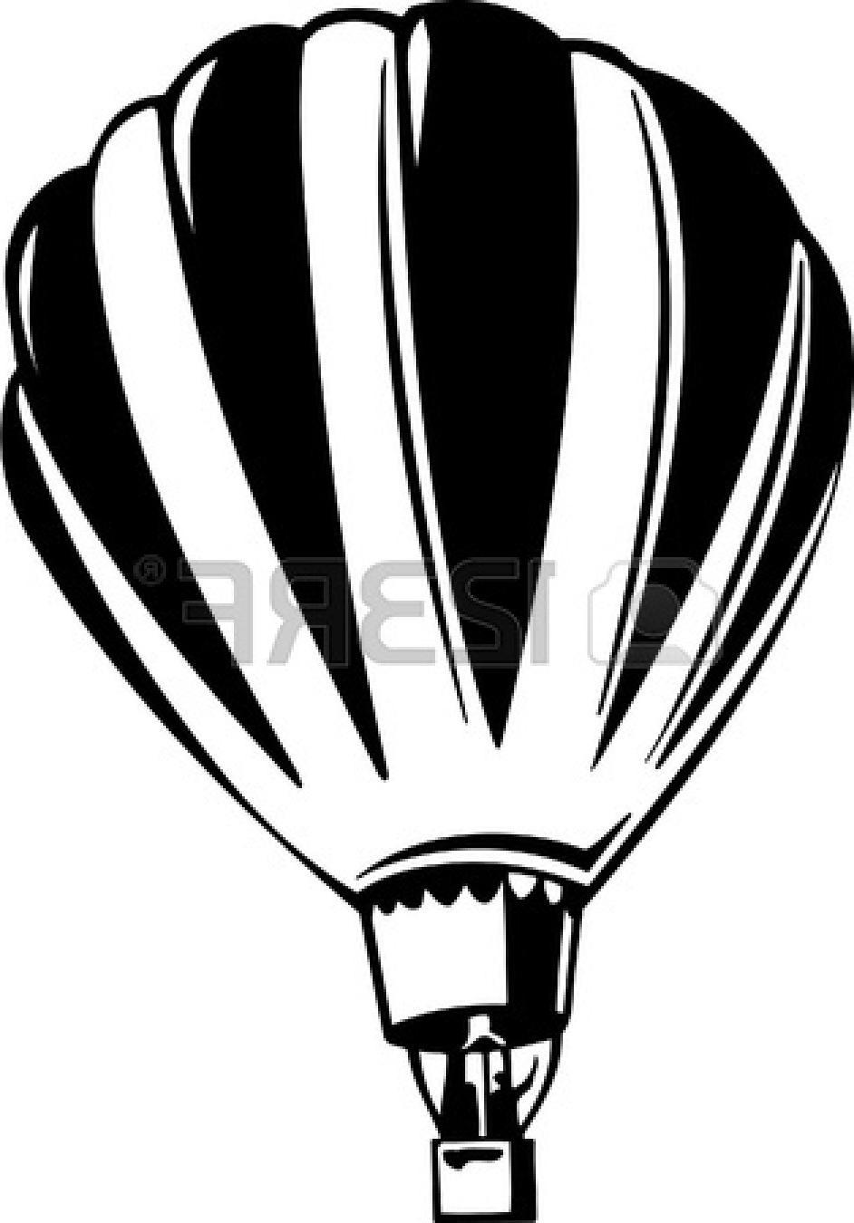 942x1350 Unique Vintage Hot Air Balloon Vector Vinyl Ready File Free