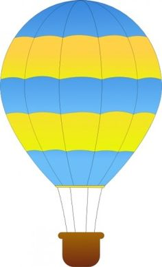 236x388 Free Clip Art Of A Fun Rainbow Striped Hot Air Balloon Sweet