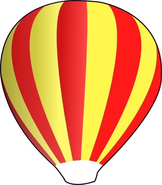 522x597 Hot Air Ballon Clip Art Free Vector In Open Office Drawing Svg