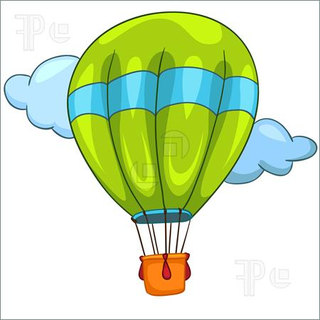 450x450 Hot Air Balloon Clip Art