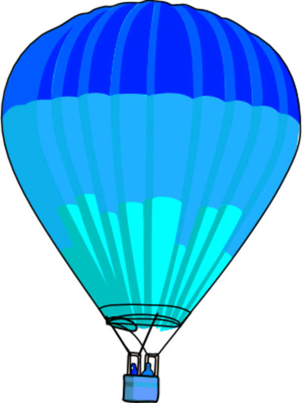 600x800 Blur Clipart Hot Air Balloon