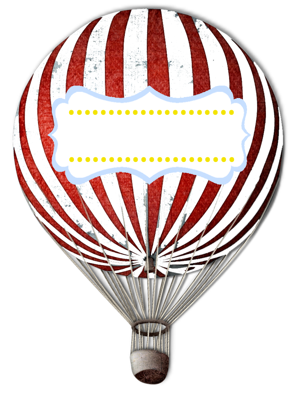 957x1267 Drawn Hot Air Balloon Vintage Circus