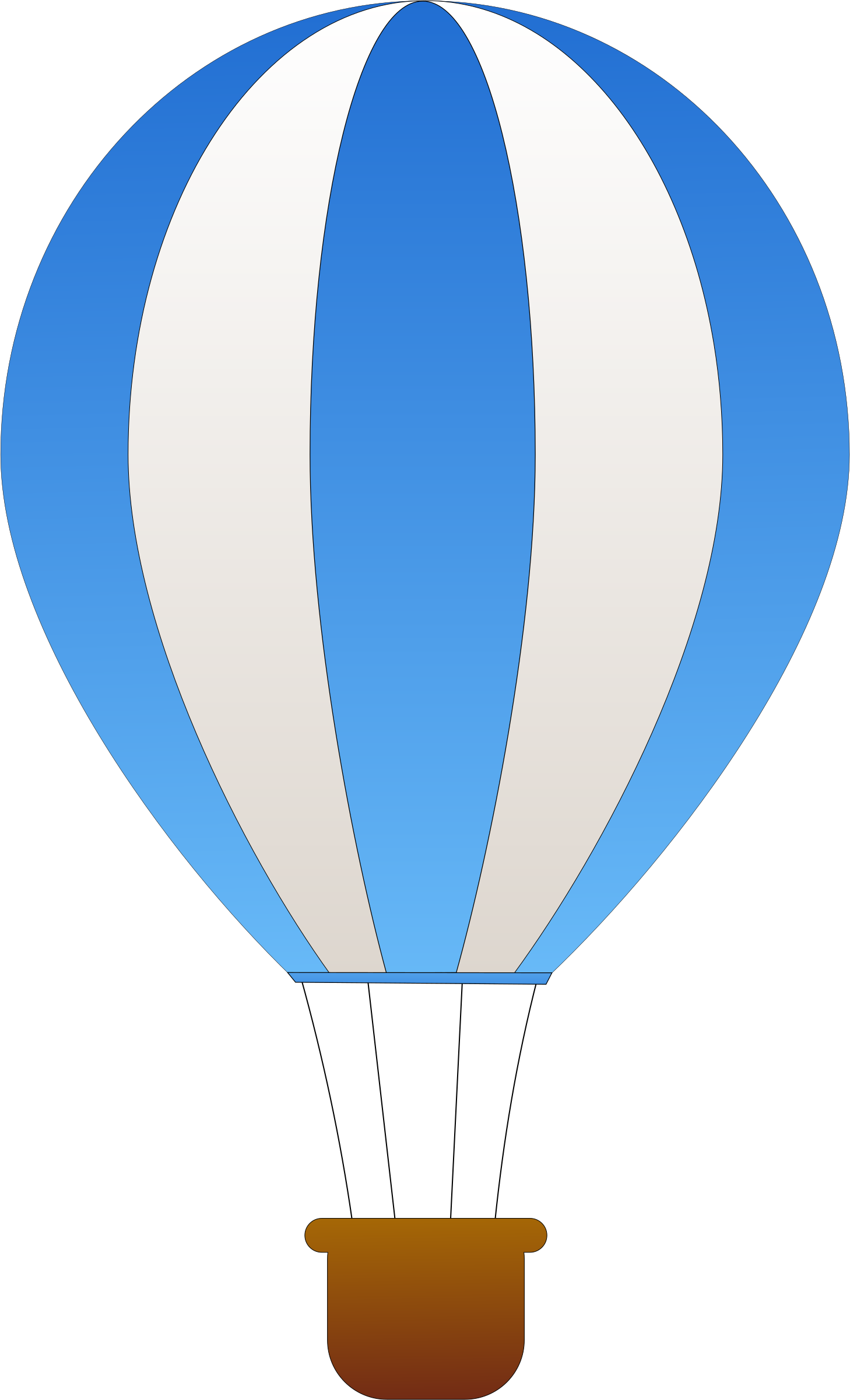 Hot Air Balloon Drawing | Free download on ClipArtMag