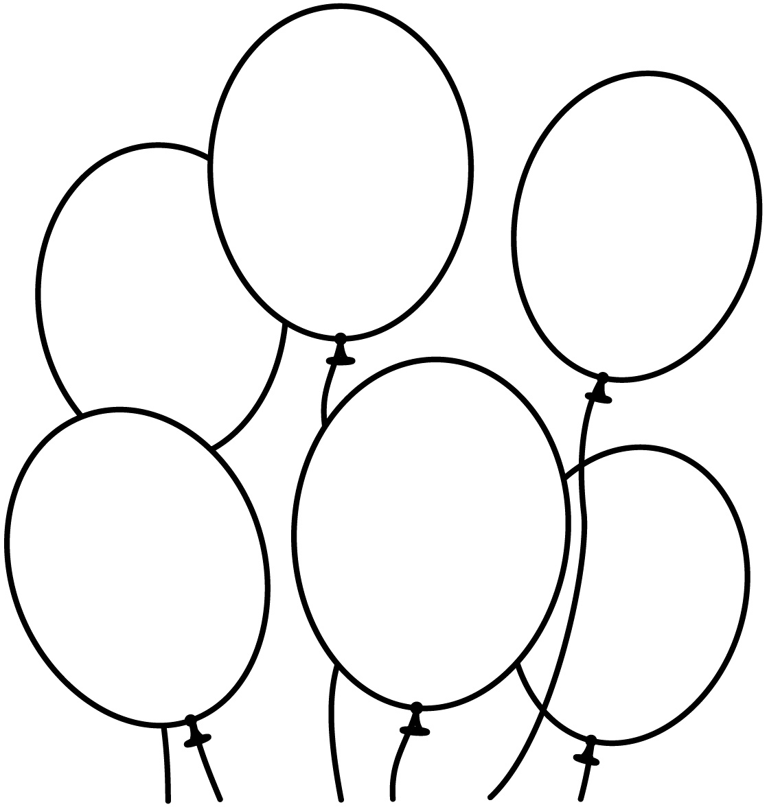 1136x1176 Best Hot Air And Birthday Balloon Coloring Pages