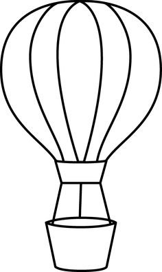 236x395 Hot Air Balloon Template Printable Business Template