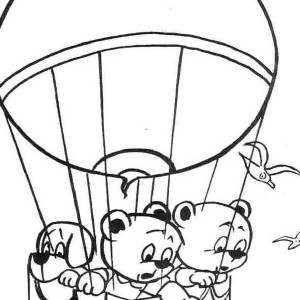 300x300 How To Draw Hot Air Balloon Coloring Pages Bulk Color