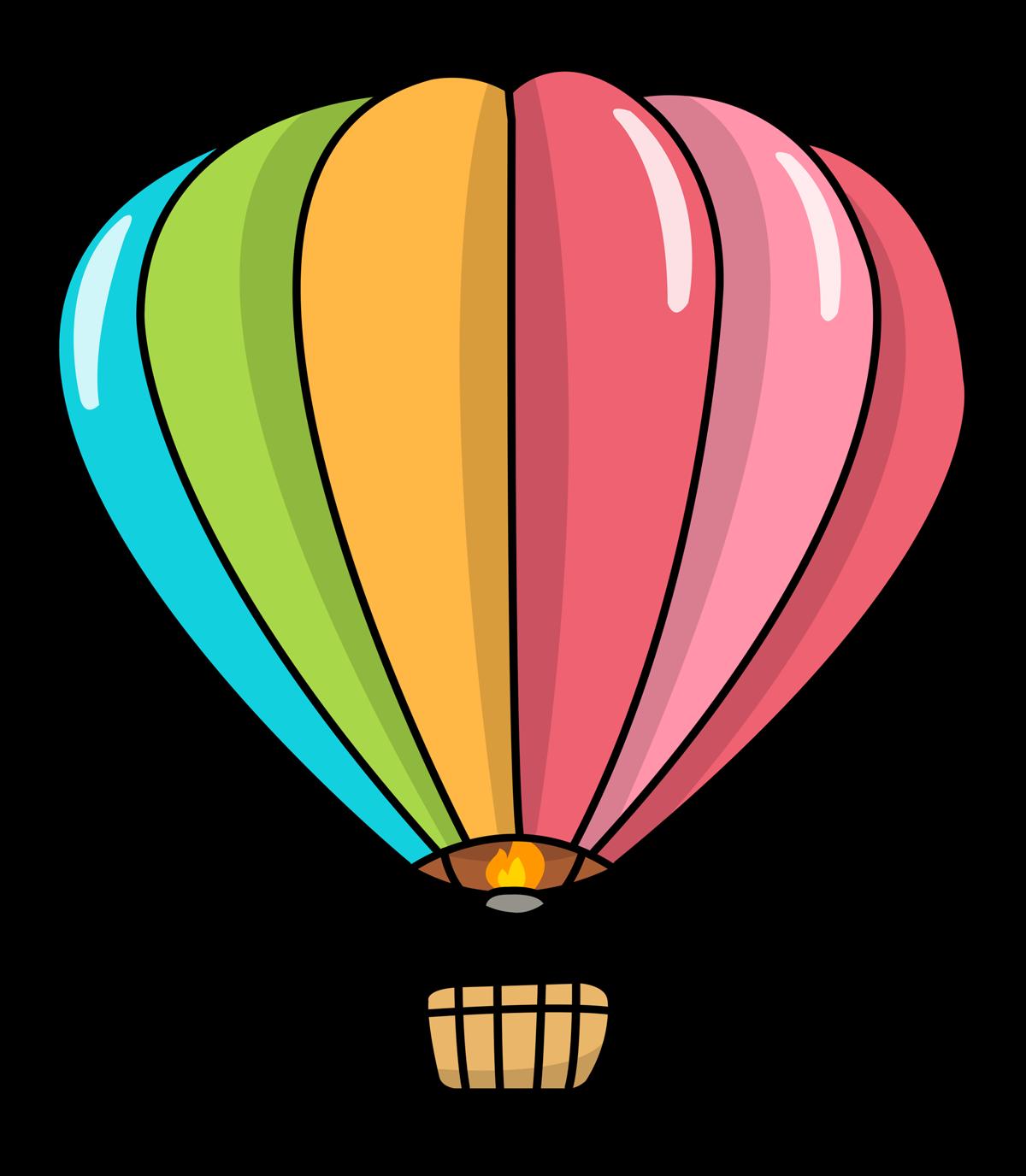 1200x1376 Hot Air Balloon Clipart