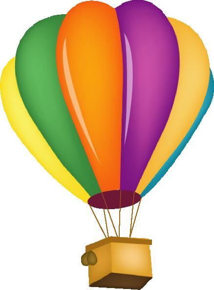 438x592 Hot Air Balloon Clipart