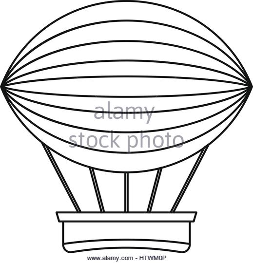 519x540 Hot Air Balloon Race Black And White Stock Photos Amp Images