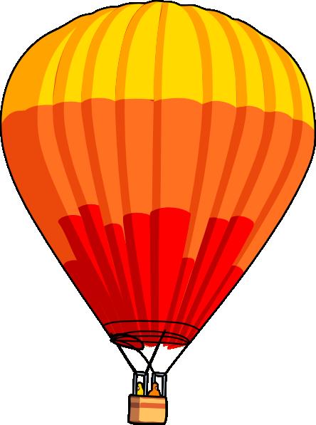 444x597 Hot Air Balloon Clip Art Free Vector 4vector