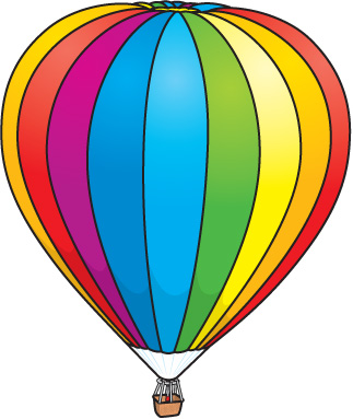 323x383 Hot Air Balloon Clipart