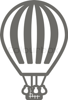 218x320 Hot Air Balloon Vector Illustration Stock Vector Colourbox
