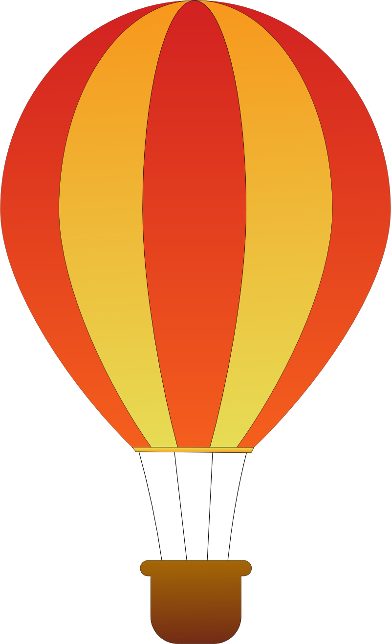 800x1317 Air Balloon Clipart