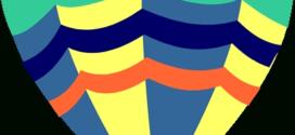 272x125 Hot Air Balloon Clip Art Outline Clipart Panda