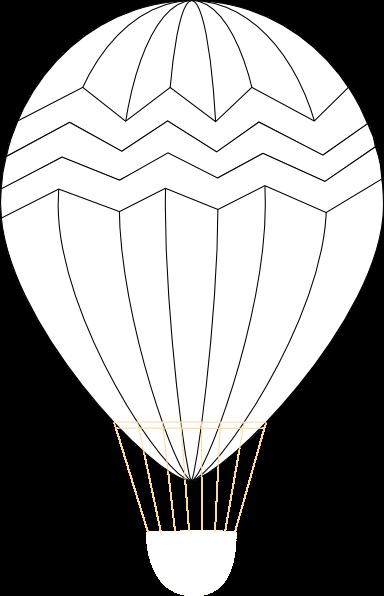 384x596 Balloon Template Cliparts 176815