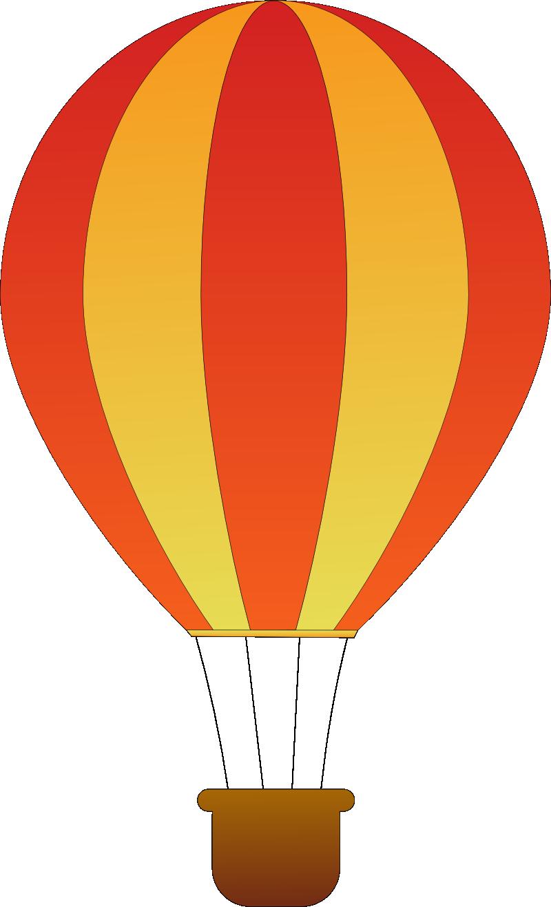 800x1317 Hot Air Balloon Png Clipart