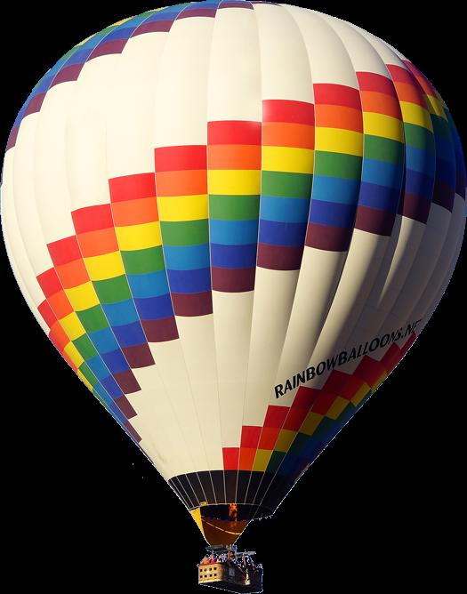 525x668 Rainbow Balloons