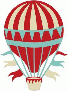 225x300 Hot Air Balloon Clipart
