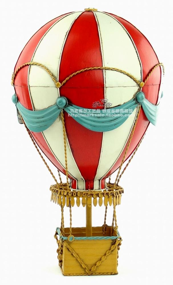 607x1000 Hot Classic Retro 19th Century European Hot Air Balloon Model