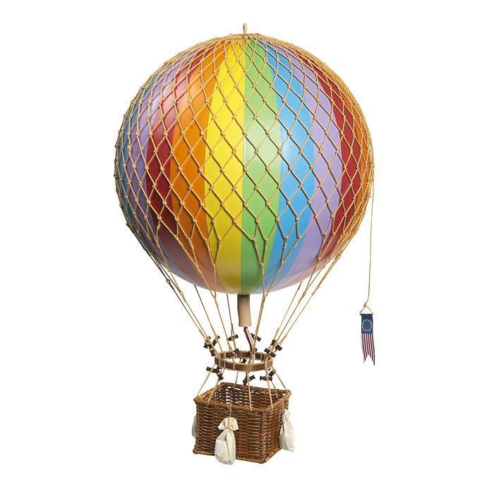 700x700 Ornamental Vintage Hot Air Balloons Antique Retro Nursery Home