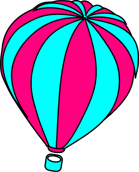 486x599 Vintage Hot Air Balloon Clipart Free Clipart Images