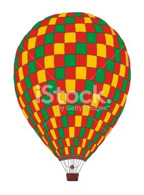 281x380 Vintage Hot Air Balloon Drawing Clipart Panda