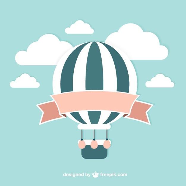 626x626 Vintage Balloon Vector Vector Free Download