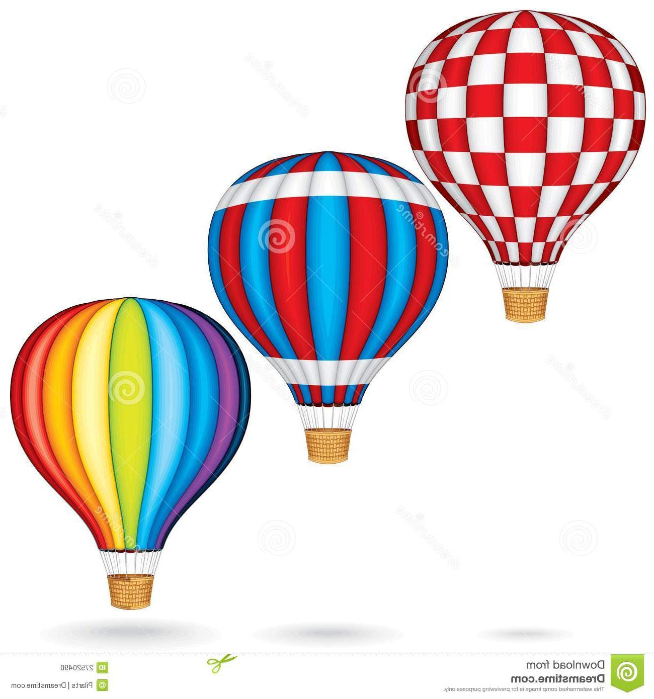 1300x1390 Best Free Vintage Hot Air Balloon Vector Balloons File