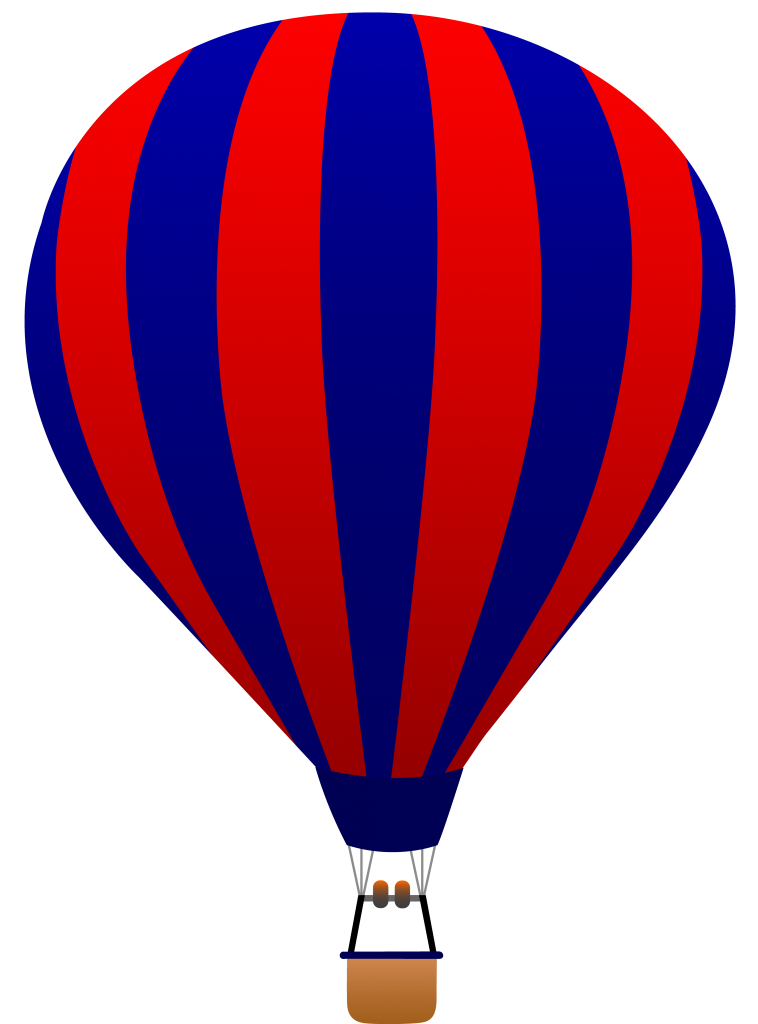 758x1024 Clipart Hot Air Balloon