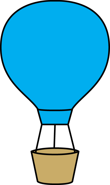 446x747 Clipart Hot Air Balloon