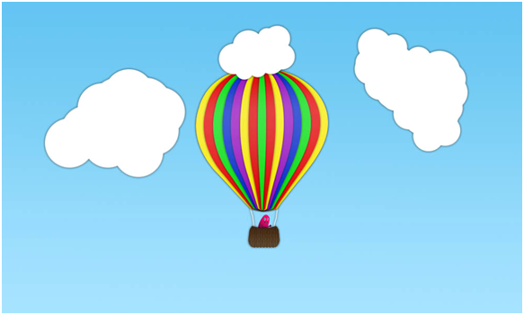 583x351 Photoshop Creating A Hot Air Balloon Cartoon