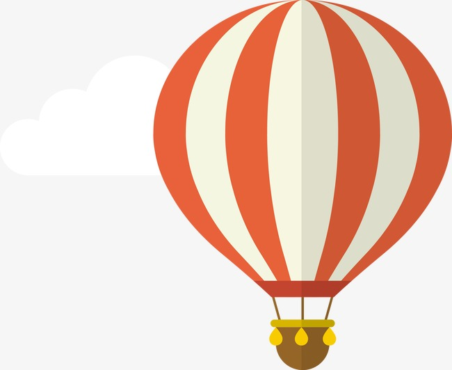 650x532 Cartoon Flat Hot Air Balloon, Cartoon, Flat, Hot Air Balloon Png