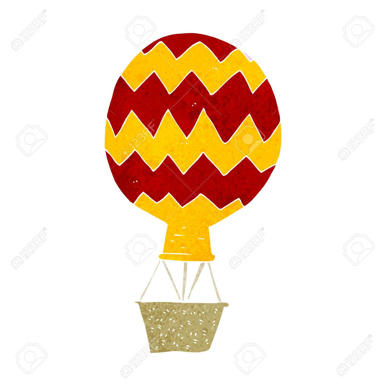 1300x1300 Cartoon Hot Air Balloon Royalty Free Cliparts, Vectors, And Stock