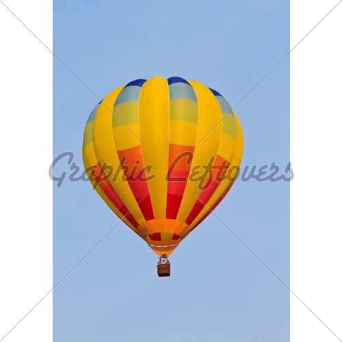 500x500 Colorful hot air balloon wallpaper
