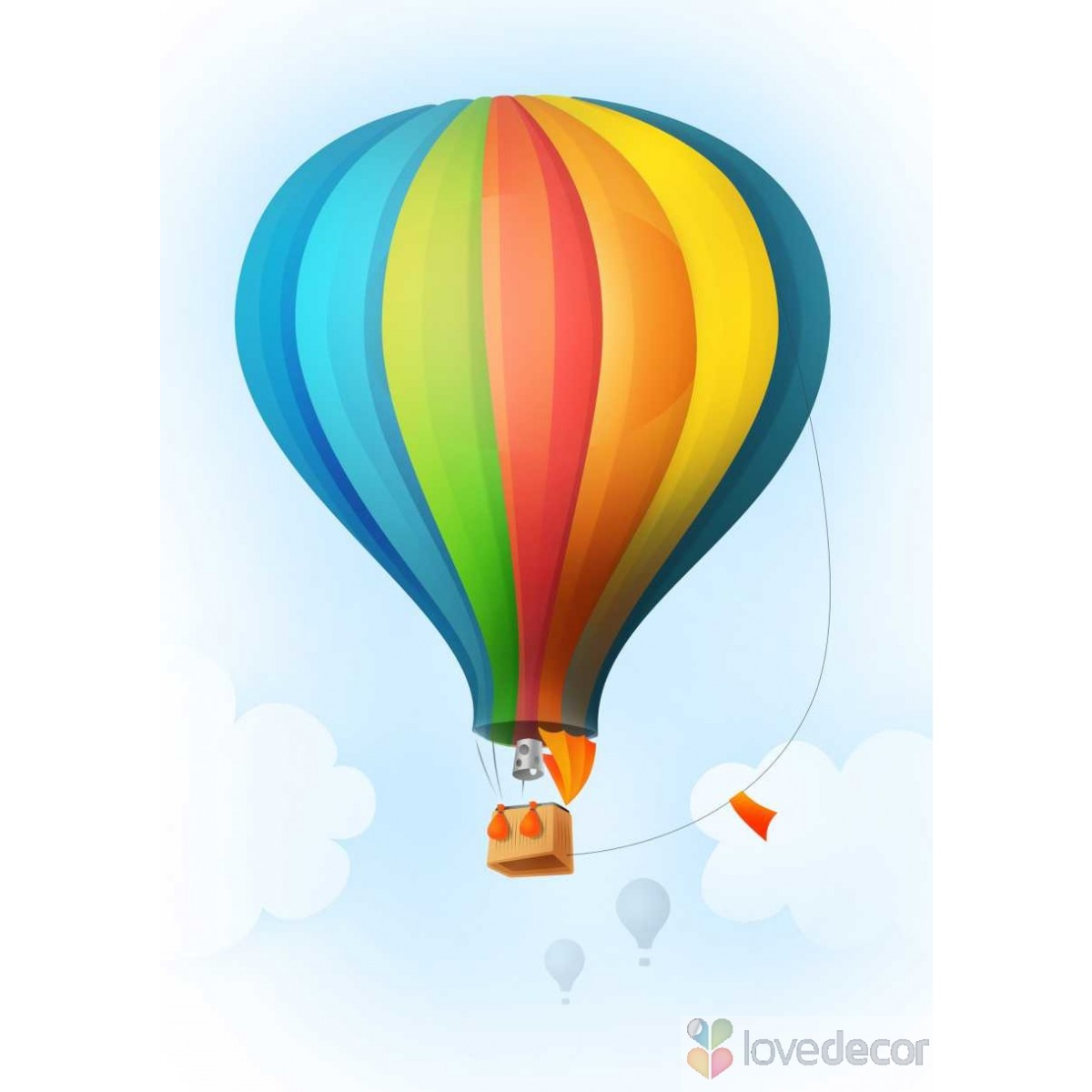 1200x1200 Photo Collection 429 Air Balloon Wallpapers