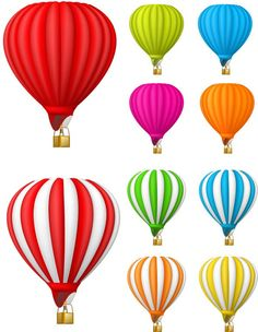 236x304 free Vintage Hot Air Balloon clipart for personal and commercial