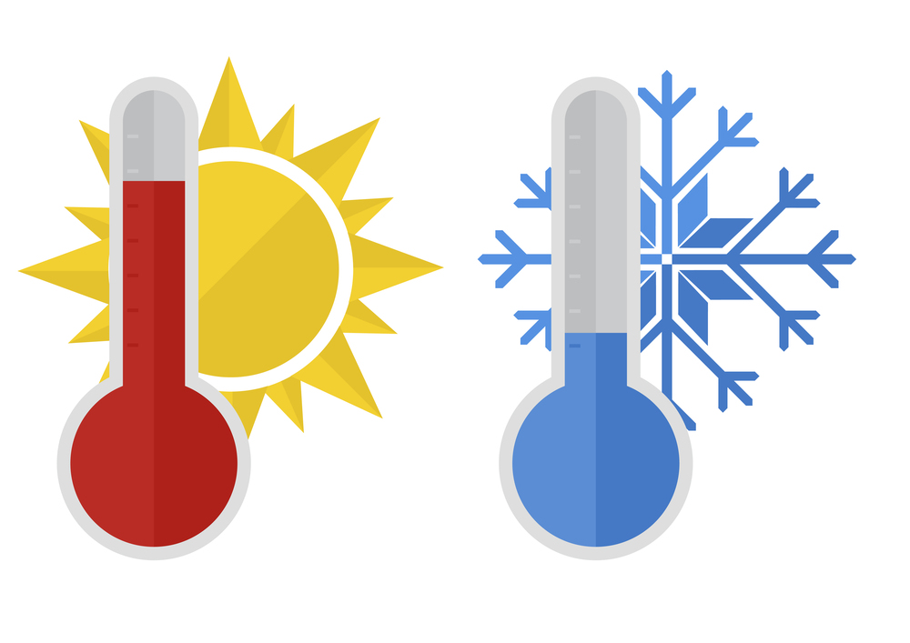 1000x707 Cool Clipart Hot And Cold
