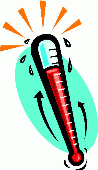 339x588 Hot Thermometer Clipart