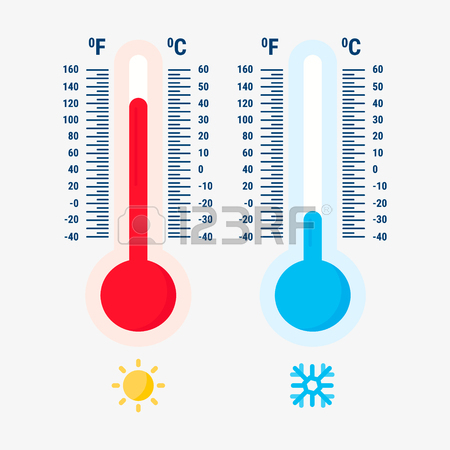 450x450 Thermometer Equipment Showing Hot Or Cold Weather Icon