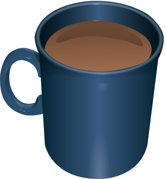 552x597 Coffee Mug Clip Art
